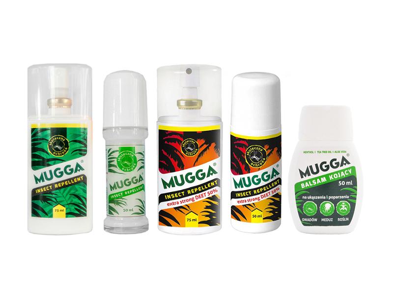 014fd91eb481 Preparaty Mugga. Środki na kleszcze i komary Full ZESTAW.    Mugga ...